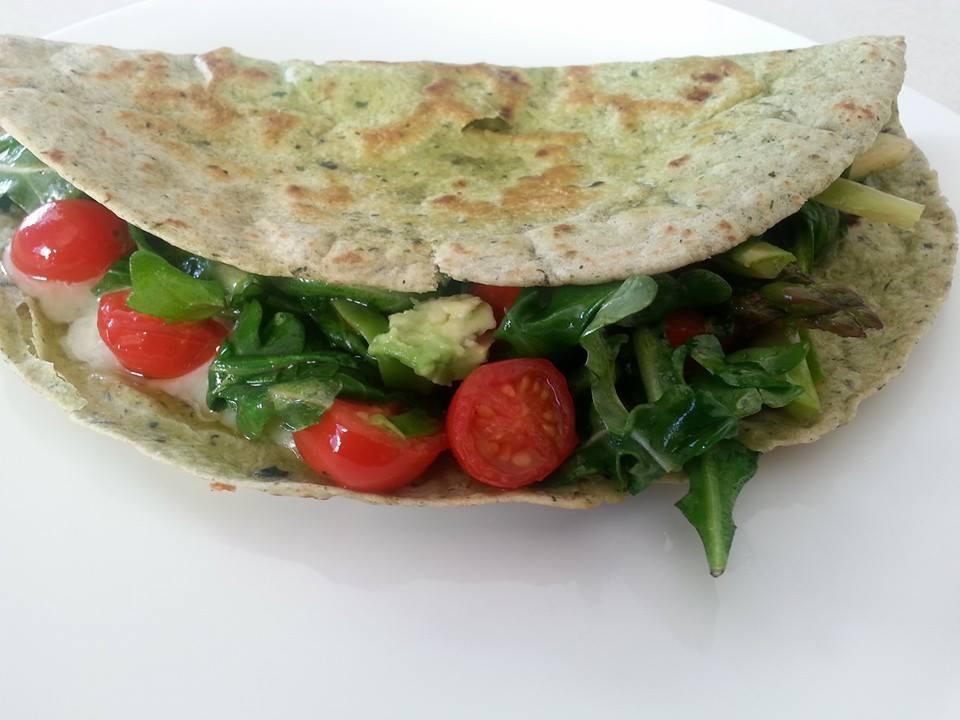 veggie quesadilla 2