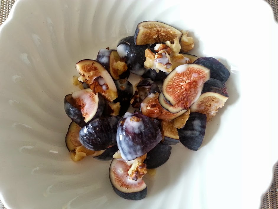 figs with coconut milk