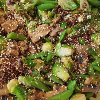 quinoa stir fry