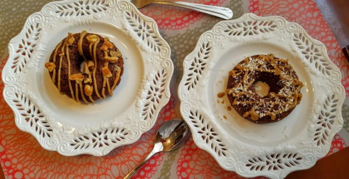 Caramel Apple Cinnamon Donuts